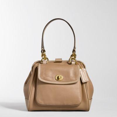 Bonnie Leather Lady Bag