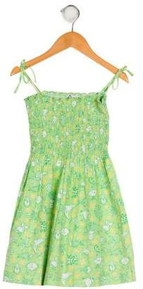 21eab3d1ca0 Lilly Pulitzer Girls  Printed Sleeveless Dress