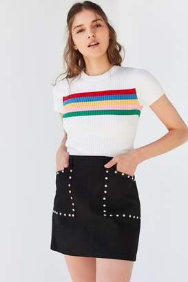 BDG A-Line Studded Mini Skirt