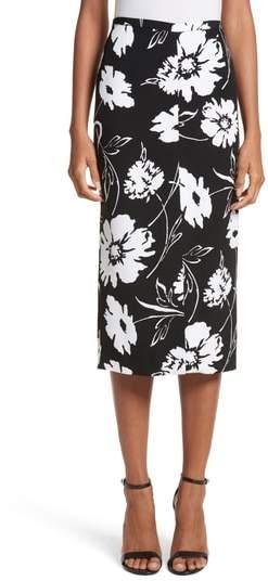 Women's Michael Kors Floral Print Pencil Skirt
