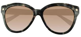 Amanda Wakeley The Chelsea Charcoal Tortoiseshell Sunglasses