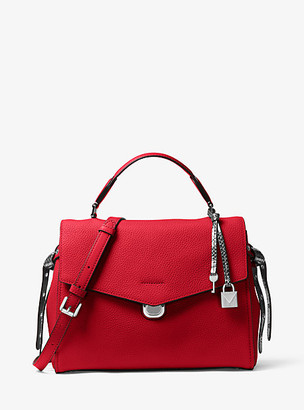 00c274d7a7e1 Red Leather Satchels for Women - ShopStyle UK