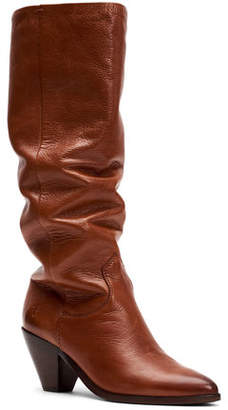 Frye Lila Slouchy Leather Boots