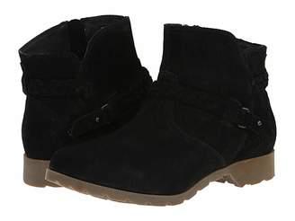 Teva Delavina Ankle Suede Women's Zip Boots