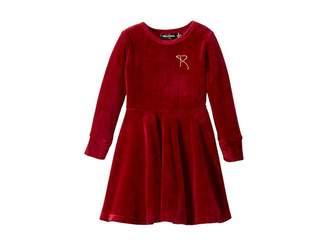 Rock Your Baby Velvet Underground Waisted Dress (Toddler/Little Kids/Big Kids)