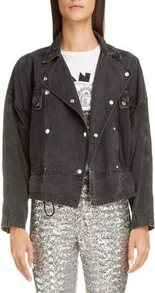 Isabel Marant Snap Button Denim Jacket