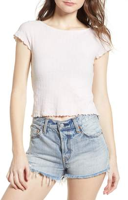 PST by Project Social T Lettuce Edge Crop Tee