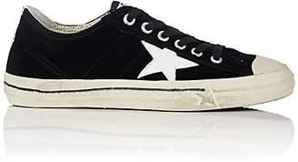 Golden Goose Women's V-Star 2 Velvet Sneakers - Black Velvet