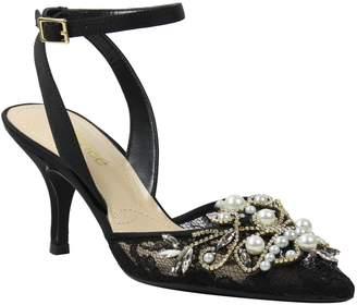 J. Renee Mid Heel Ankle Strap - Denaye
