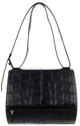 Givenchy Embossed Medium Pandora Box Satchel