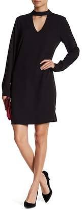 Vero Moda Chiara Long Sleeve Choker Dress
