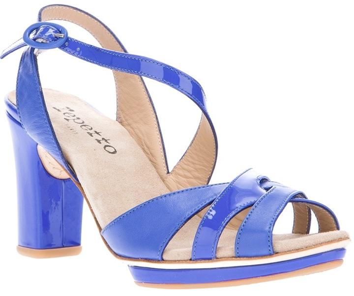 Repetto interwoven strap sandal
