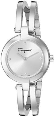 Salvatore Ferragamo Women's 'Ferragamo Miniature' Swiss Quartz Stainless Steel Casual Watch