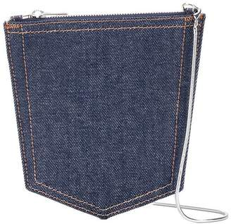 MM6 MAISON MARGIELA denim crossbody bag