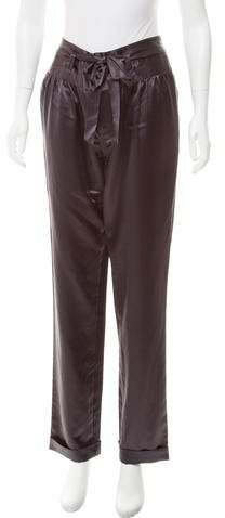 Marc by Marc Jacobs Silk High-Rise Pants w/ Tags