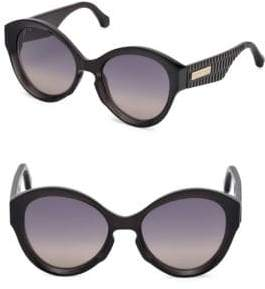 Roberto Cavalli Oversized Injected Sunglasses With Gradient Lenses/56MM
