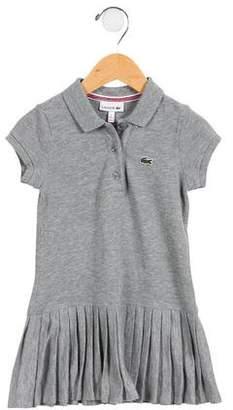 Lacoste Girls' Short Sleeve Dress