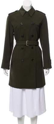 Prada Double-Breasted Trench Coat