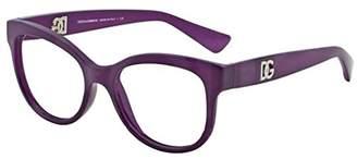 Dolce & Gabbana DOLCE GABBANA DG5010 Eyeglasses-2677 Matte Opal Violet-52mm