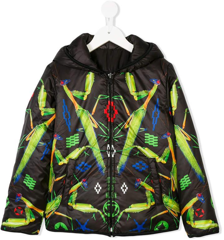Marcelo Burlon County Of Milan Kids printed hooded jacket