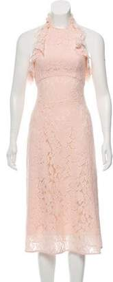 Lover Lace Halter Neck Dress w/ Tags