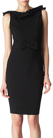 RED VALENTINO Bow waisted dress