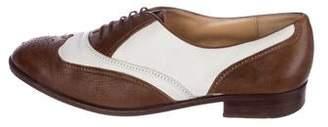 Gravati x Neiman Marcus Wingtip Leather Oxfords