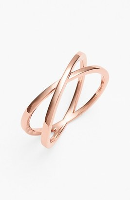 Women's Bony Levy Crossover Open Ring (Nordstrom Exclusive) $450 thestylecure.com