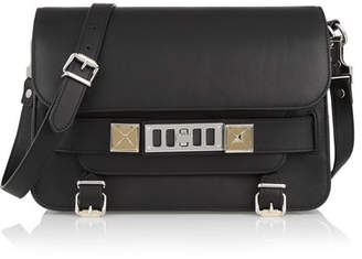 Proenza Schouler The Ps11 Classic Leather Shoulder Bag - Black