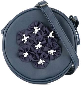 Familiar petal detail shoulder bag