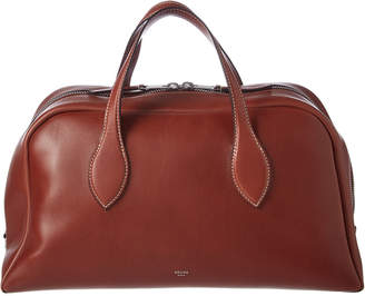 Celine Medium Leather Bowling Bag