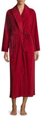 Natori Velvet Interlock Robe