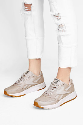 Reebok Leather Sneakers with Suede $119 thestylecure.com