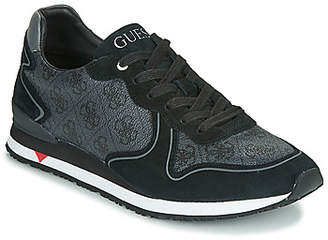 GUESS NEW GLORYM men's Shoes (Trainers) in Black