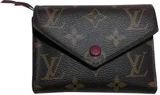 Louis Vuitton Victorine Multicolour Cloth Wallets
