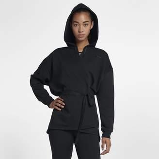 Nike Dri-FIT Wrap Women's Training Hoodie