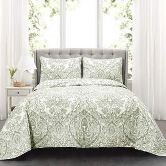 Three Posts Jeske 3 Piece Reversible Quilt Set
