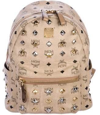 MCM Studded Visetos Backpack
