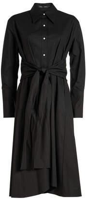 Proenza Schouler Cotton Wrap Dress