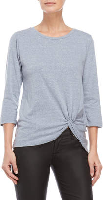 Alison Andrews Knotted Quarter Sleeve Tee