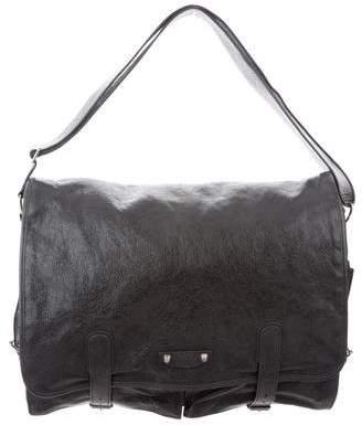 Balenciaga Agneau Utility Messenger Bag