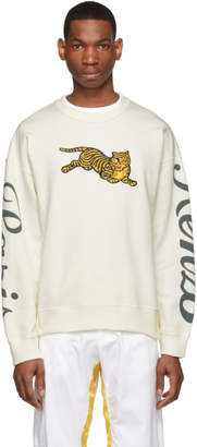 Kenzo Off-White Jumping Tiger Sweatshirt