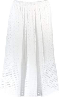 Blugirl Pull On Lace Skirt