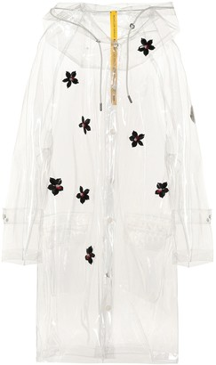 Simone Rocha Moncler Genius 4 MONCLER embellished raincoat