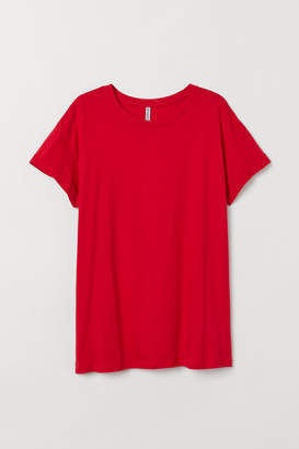 H&M H&M+ Jersey Top - Red