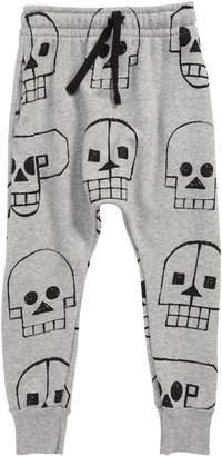 Nununu Skull Robot Baggy Sweatpants