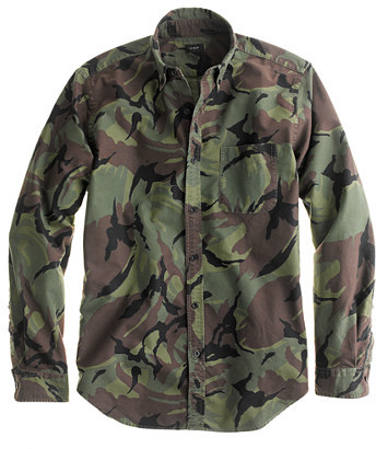 Camo Tall canvas shirt