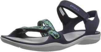 9a02cecb71ee Crocs Women s Swiftwater Webbing Sandal W Sport Sandals