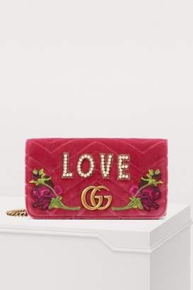 Gucci GG Marmont Love mini bag