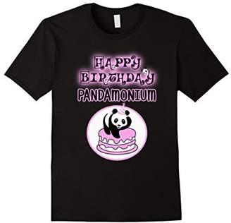 Panda birthday - Pandamonium panda apparel